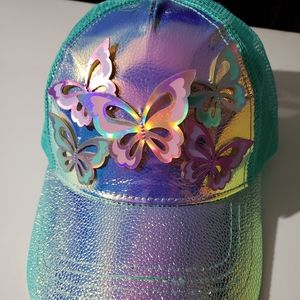 Claire's butterfly hat